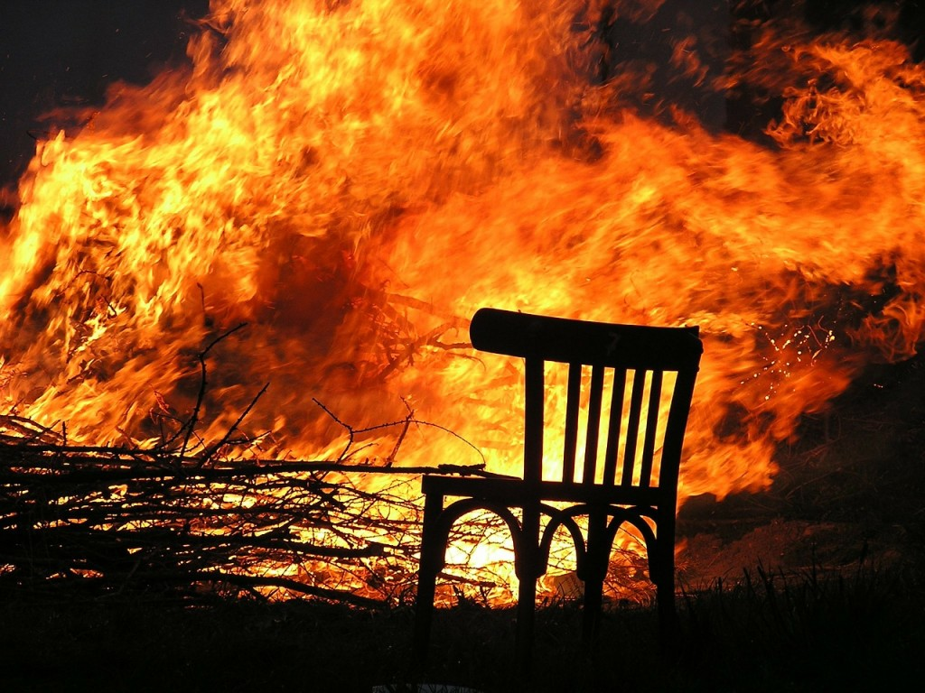 fire-175966_1280An image of a chair with a burning inferno behind it.  An example of one of the high risks to your property during the Christmas period and a reason to ensure you have a good home insurance policy.